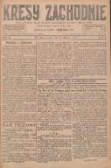 Kresy Zachodnie: pismo poświęcone obronie interesów narodowych na zachodnich ziemiach Polski 1927.01.22 R.5 Nr17