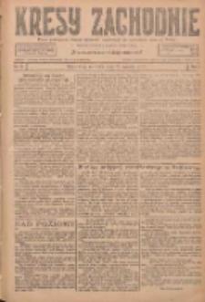 Kresy Zachodnie: pismo poświęcone obronie interesów narodowych na zachodnich ziemiach Polski 1927.01.23 R.5 Nr18