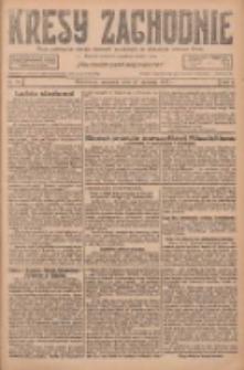 Kresy Zachodnie: pismo poświęcone obronie interesów narodowych na zachodnich ziemiach Polski 1927.01.27 R.5 Nr21