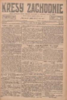Kresy Zachodnie: pismo poświęcone obronie interesów narodowych na zachodnich ziemiach Polski 1927.02.01 R.5 Nr25