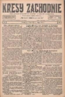Kresy Zachodnie: pismo poświęcone obronie interesów narodowych na zachodnich ziemiach Polski 1927.02.02 R.5 Nr26