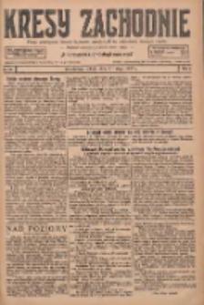 Kresy Zachodnie: pismo poświęcone obronie interesów narodowych na zachodnich ziemiach Polski 1927.02.05 R.5 Nr28