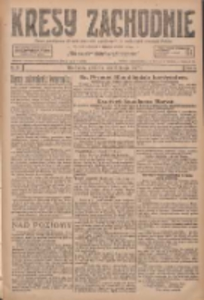 Kresy Zachodnie: pismo poświęcone obronie interesów narodowych na zachodnich ziemiach Polski 1927.02.06 R.5 Nr29