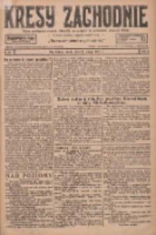 Kresy Zachodnie: pismo poświęcone obronie interesów narodowych na zachodnich ziemiach Polski 1927.02.09 R.5 Nr31