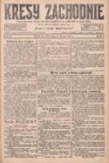 Kresy Zachodnie: pismo poświęcone obronie interesów narodowych na zachodnich ziemiach Polski 1927.02.12 R.5 Nr34