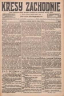 Kresy Zachodnie: pismo poświęcone obronie interesów narodowych na zachodnich ziemiach Polski 1927.02.13 R.5 Nr35
