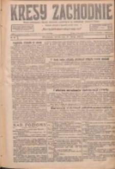 Kresy Zachodnie: pismo poświęcone obronie interesów narodowych na zachodnich ziemiach Polski 1927.02.15 R.5 Nr36