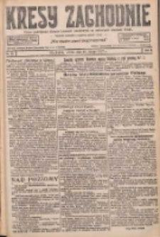 Kresy Zachodnie: pismo poświęcone obronie interesów narodowych na zachodnich ziemiach Polski 1927.02.26 R.5 Nr46