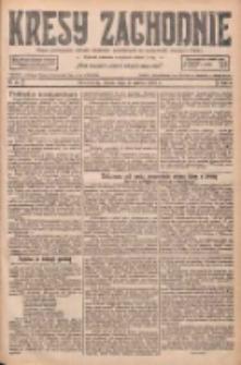 Kresy Zachodnie: pismo poświęcone obronie interesów narodowych na zachodnich ziemiach Polski 1927.03.02 R.5 Nr49