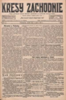 Kresy Zachodnie: pismo poświęcone obronie interesów narodowych na zachodnich ziemiach Polski 1927.03.04 R.5 Nr51