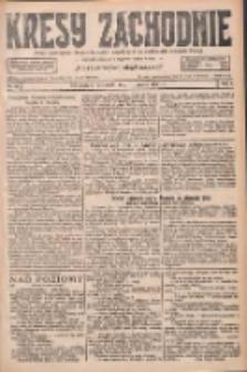 Kresy Zachodnie: pismo poświęcone obronie interesów narodowych na zachodnich ziemiach Polski 1927.03.10 R.5 Nr56