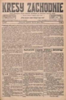 Kresy Zachodnie: pismo poświęcone obronie interesów narodowych na zachodnich ziemiach Polski 1927.03.13 R.5 Nr59