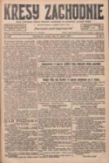Kresy Zachodnie: pismo poświęcone obronie interesów narodowych na zachodnich ziemiach Polski 1927.03.15 R.5 Nr60