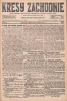 Kresy Zachodnie: pismo poświęcone obronie interesów narodowych na zachodnich ziemiach Polski 1927.03.18 R.5 Nr63
