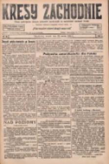 Kresy Zachodnie: pismo poświęcone obronie interesów narodowych na zachodnich ziemiach Polski 1927.03.22 R.5 Nr66