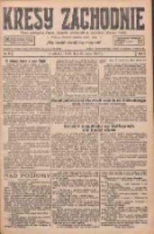 Kresy Zachodnie: pismo poświęcone obronie interesów narodowych na zachodnich ziemiach Polski 1927.03.23 R.5 Nr67