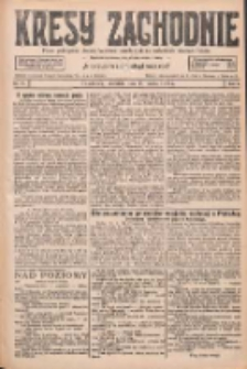 Kresy Zachodnie: pismo poświęcone obronie interesów narodowych na zachodnich ziemiach Polski 1927.03.27 R.5 Nr71