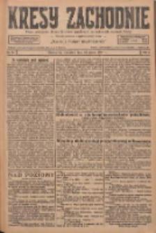 Kresy Zachodnie: pismo poświęcone obronie interesów narodowych na zachodnich ziemiach Polski 1927.03.31 R.5 Nr74