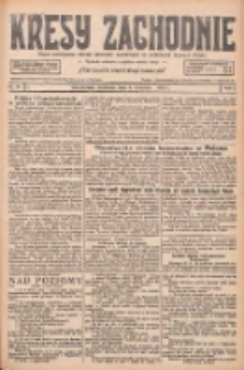 Kresy Zachodnie: pismo poświęcone obronie interesów narodowych na zachodnich ziemiach Polski 1927.04.03 R.5 Nr76