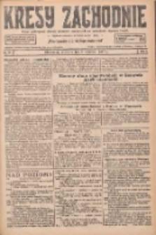 Kresy Zachodnie: pismo poświęcone obronie interesów narodowych na zachodnich ziemiach Polski 1927.04.03 R.5 Nr77