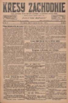 Kresy Zachodnie: pismo poświęcone obronie interesów narodowych na zachodnich ziemiach Polski 1927.04.14 R.5 Nr86