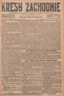 Kresy Zachodnie: pismo poświęcone obronie interesów narodowych na zachodnich ziemiach Polski 1927.04.15 R.5 Nr87