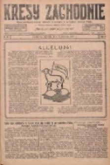 Kresy Zachodnie: pismo poświęcone obronie interesów narodowych na zachodnich ziemiach Polski 1927.04.17 R.5 Nr89