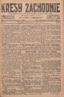 Kresy Zachodnie: pismo poświęcone obronie interesów narodowych na zachodnich ziemiach Polski 1927.04.21 R.5 Nr91