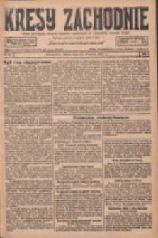 Kresy Zachodnie: pismo poświęcone obronie interesów narodowych na zachodnich ziemiach Polski 1927.04.23 R.5 Nr93