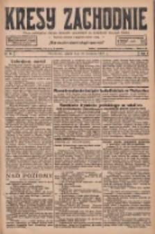 Kresy Zachodnie: pismo poświęcone obronie interesów narodowych na zachodnich ziemiach Polski 1927.04.29 R.5 Nr98