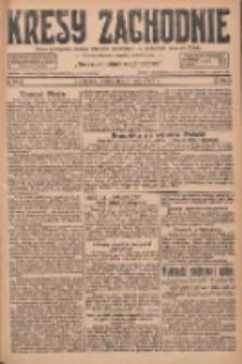 Kresy Zachodnie: pismo poświęcone obronie interesów narodowych na zachodnich ziemiach Polski 1927.05.03 R.5 Nr101