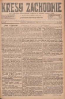 Kresy Zachodnie: pismo poświęcone obronie interesów narodowych na zachodnich ziemiach Polski 1927.05.06 R.5 Nr103