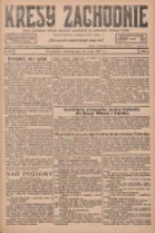 Kresy Zachodnie: pismo poświęcone obronie interesów narodowych na zachodnich ziemiach Polski 1927.05.15 R.5 Nr111