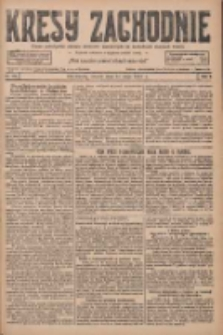 Kresy Zachodnie: pismo poświęcone obronie interesów narodowych na zachodnich ziemiach Polski 1927.05.17 R.5 Nr112