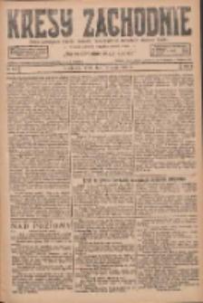 Kresy Zachodnie: pismo poświęcone obronie interesów narodowych na zachodnich ziemiach Polski 1927.05.18 R.5 Nr113
