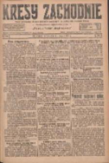 Kresy Zachodnie: pismo poświęcone obronie interesów narodowych na zachodnich ziemiach Polski 1927.05.21 R.5 Nr116