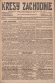 Kresy Zachodnie: pismo poświęcone obronie interesów narodowych na zachodnich ziemiach Polski 1927.05.24 R.5 Nr118