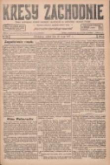 Kresy Zachodnie: pismo poświęcone obronie interesów narodowych na zachodnich ziemiach Polski 1927.05.28 R.5 Nr121