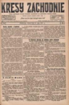 Kresy Zachodnie: pismo poświęcone obronie interesów narodowych na zachodnich ziemiach Polski 1927.05.31 R.5 Nr123