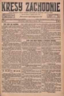 Kresy Zachodnie: pismo poświęcone obronie interesów narodowych na zachodnich ziemiach Polski 1927.06.03 R.5 Nr126