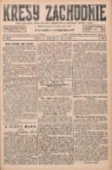 Kresy Zachodnie: pismo poświęcone obronie interesów narodowych na zachodnich ziemiach Polski 1927.06.08 R.5 Nr129