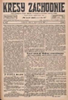 Kresy Zachodnie: pismo poświęcone obronie interesów narodowych na zachodnich ziemiach Polski 1927.06.09 R.5 Nr130