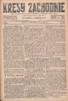 Kresy Zachodnie: pismo poświęcone obronie interesów narodowych na zachodnich ziemiach Polski 1927.06.14 R.5 Nr134