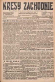 Kresy Zachodnie: pismo poświęcone obronie interesów narodowych na zachodnich ziemiach Polski 1927.06.23 R.5 Nr141
