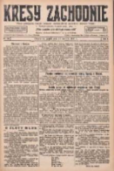Kresy Zachodnie: pismo poświęcone obronie interesów narodowych na zachodnich ziemiach Polski 1927.06.24 R.5 Nr142