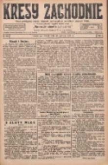 Kresy Zachodnie: pismo poświęcone obronie interesów narodowych na zachodnich ziemiach Polski 1927.06.26 R.5 Nr144