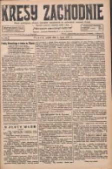 Kresy Zachodnie: pismo poświęcone obronie interesów narodowych na zachodnich ziemiach Polski 1927.07.01 R.5 Nr147