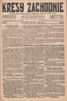 Kresy Zachodnie: pismo poświęcone obronie interesów narodowych na zachodnich ziemiach Polski 1927.07.05 R.5 Nr150