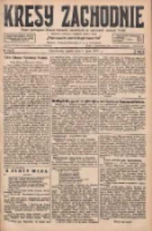 Kresy Zachodnie: pismo poświęcone obronie interesów narodowych na zachodnich ziemiach Polski 1927.07.08 R.5 Nr153