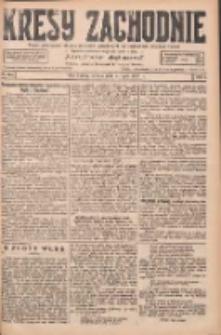 Kresy Zachodnie: pismo poświęcone obronie interesów narodowych na zachodnich ziemiach Polski 1927.07.09 R.5 Nr154